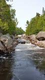 Sand River. Royalty Free Stock Photos