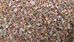 Sand river rocks Stock Photo