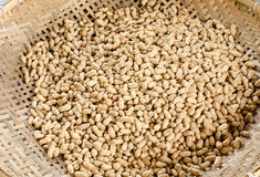 Sand roasted nuts Royalty Free Stock Image