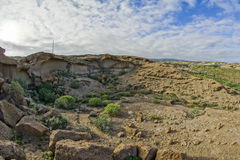 Sand and Rocks Desert Royalty Free Stock Photos