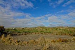 Sand and Rocks Desert Royalty Free Stock Image