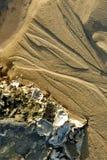 Sand and rocks of seashells Royalty Free Stock Photos