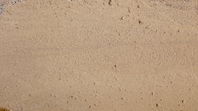 Sand Runoff stock photography