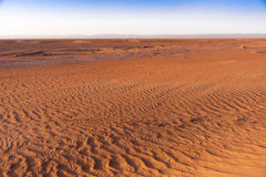 Sand in the Sahara desert Royalty Free Stock Images