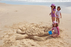 Sand-Schildkröte Stockbild
