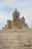 Sand-Schloss Lizenzfreies Stockbild