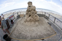Sand Sculpting Stockfotos