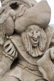 Sand Sculpting Lizenzfreie Stockfotos