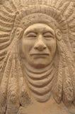 Sand sculpting art Stock Images
