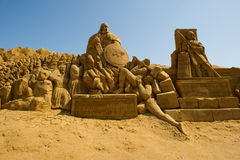 Sand sculptor Royalty Free Stock Photography