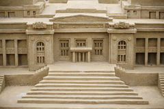 Sand Sculpture Royalty Free Stock Images