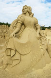 Sand Sculpture Stock Image