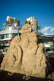 Sand sculpture Stock Photos