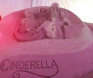 Sand Sculpture Fairy Tale Stock Photography