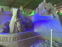 Sand Sculpture Fairy Tale Stock Photos