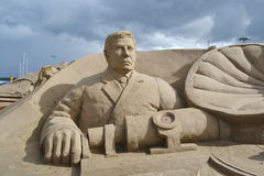 Sand Sculpture Festival in Lappeenranta Stock Images