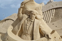 Sand Sculpture Festival in Lappeenranta Royalty Free Stock Photos