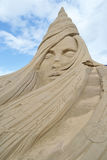 Sand Sculpture Festival in Lappeenranta Stock Image