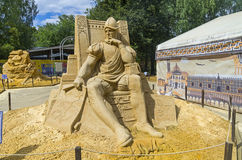 Sand Sculpture Royalty Free Stock Photos