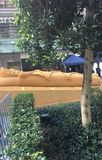 Sand Sculpture of The Mummy, World Square Sydney Royalty Free Stock Image