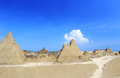 Sand sculpture park Royalty Free Stock Photography