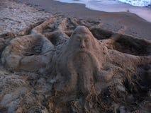 Sand sculpture Stock Photo