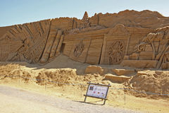 Free Sand Sculpture Wall Royalty Free Stock Photos - 25893828