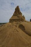 Sand Sculptures grimm fairytales Royalty Free Stock Image