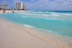 mexico, cancun beach Royalty Free Stock Photo
