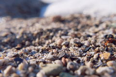 The sand on the Sea Beach Stock Images