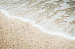 Sand and sea Stock Photography