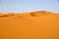 Sand sea, Libya Stock Image