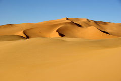 Sand sea, Libya Royalty Free Stock Image
