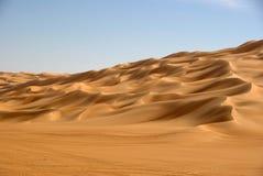 Sand sea, Libya Stock Images