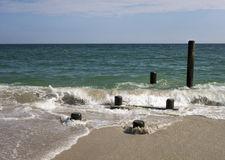 Sand and Sea Royalty Free Stock Photo