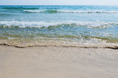 Sand, sea, shore Royalty Free Stock Image
