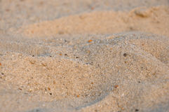 Sand at the sea-side. Sand at the yellow sea-side Royalty Free Stock Photos
