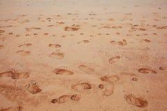 Sand sea surf Stock Photography