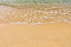 Sand sea tropical beach Stock Photo