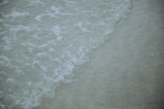 Sand and sea. The water sand and sea Stock Photos