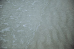 Sand and sea. The water sand and sea Royalty Free Stock Photos