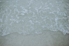 Sand and sea. The water sand and sea Stock Photo