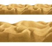 Sand, seamless background Stock Photos
