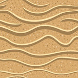 Sand seamless pattern 2. Sand seamless pattern. Illustration texture Royalty Free Stock Photo