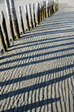 Sand shadow Stock Photos