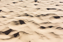 Sand and Shadows Royalty Free Stock Images