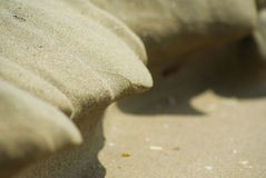 Sand shape Stock Photo