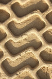 Sand shapes Stock Photography