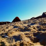 Sand and shells Royalty Free Stock Photos