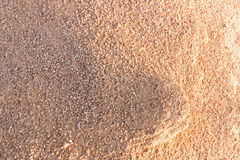 Sand is showing light and shadow Royalty Free Stock Photo
